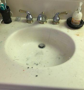 Sink1 Before